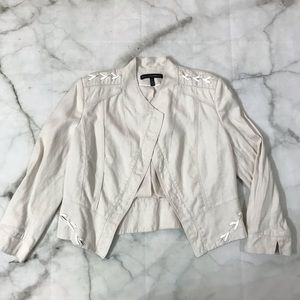 White House Black Market Open Front Blazer